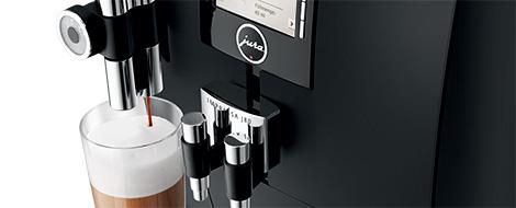 Réglable cappuccino jusqu'a 153 mm