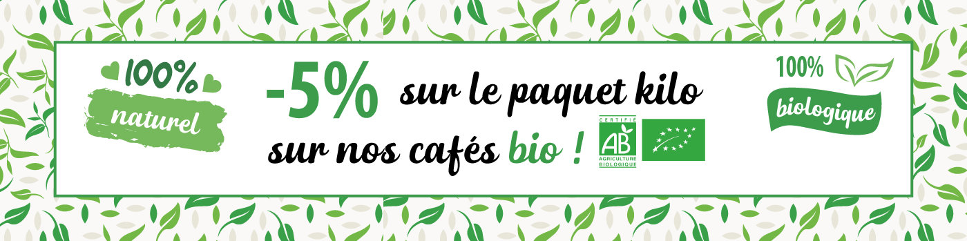 -5% sur le conditionnement kilo BIO