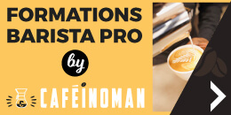 Les formations pro Barista by Caféinoman