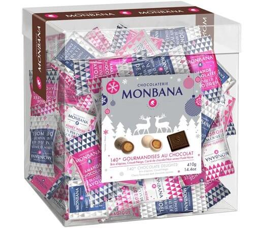 Boite 140 gourmandises au chocolat - Monbana