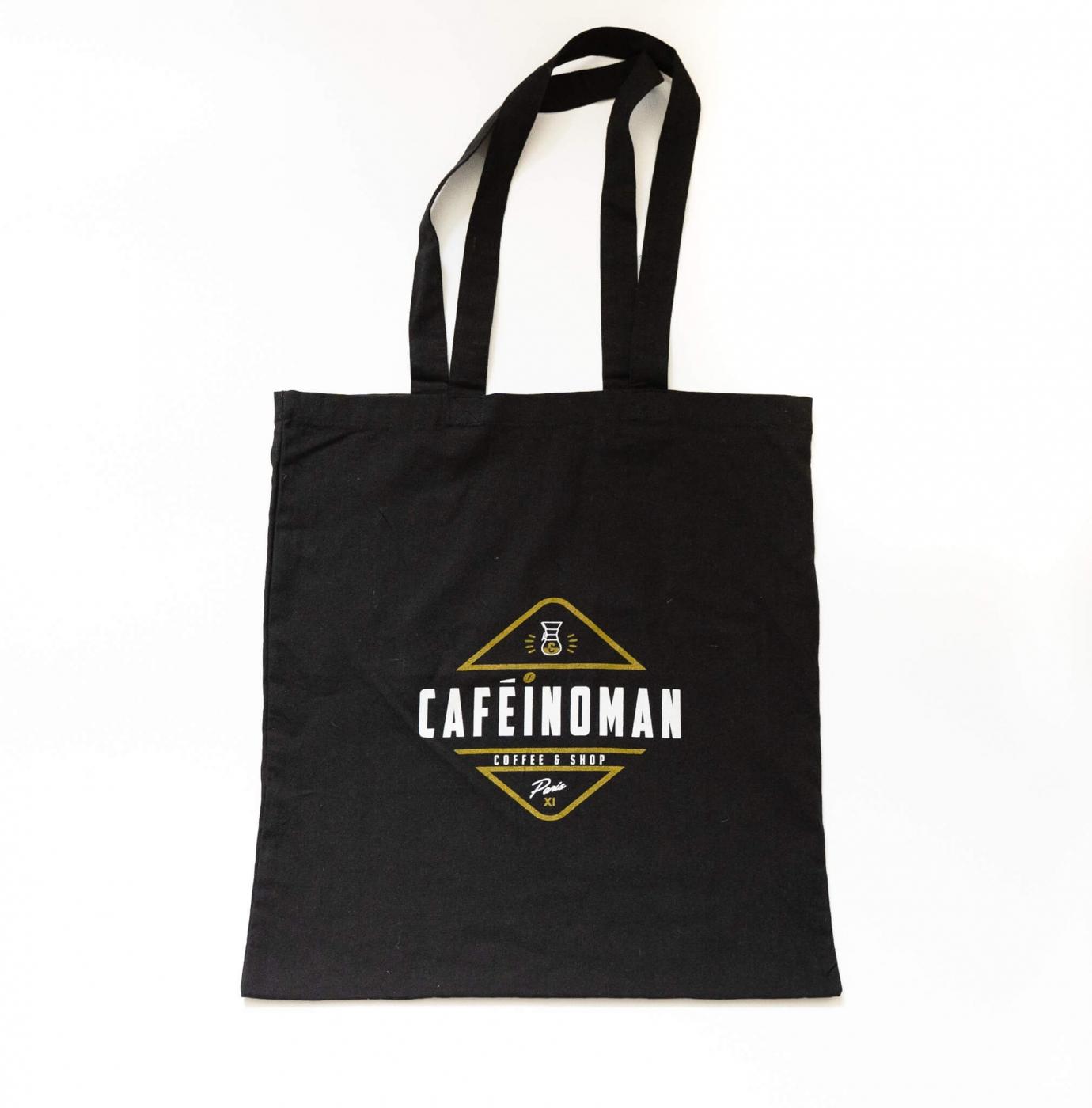 2021 07 27 tote bag noir fond blanc  cafeinoman