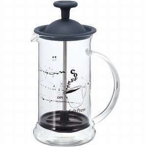 Cafetière à piston Hario Slim S Black CPSS-2TB