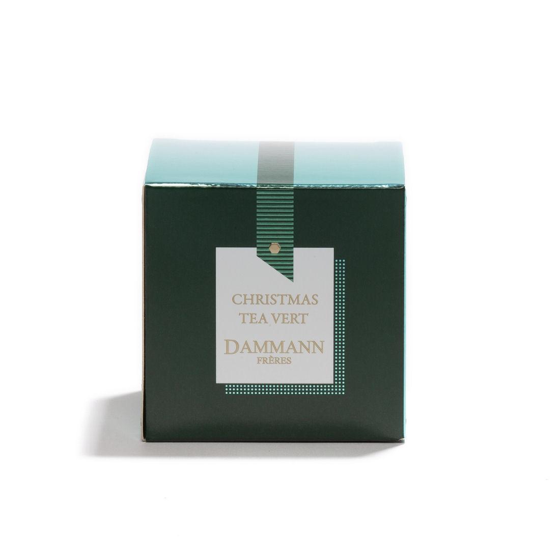 5677 christmas tea vert face