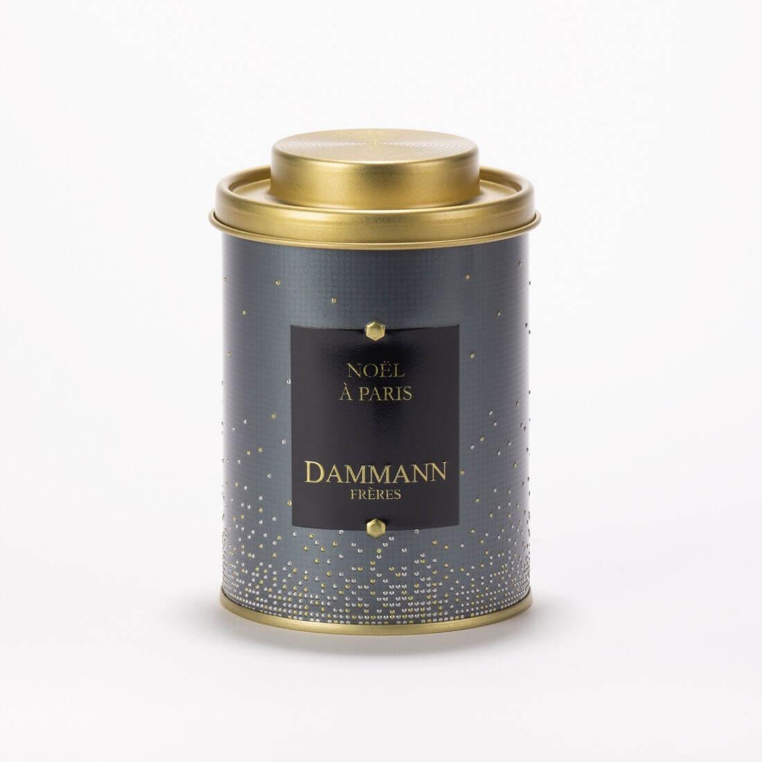 Thé noir Noël à Paris Dammann Frères - Boîte de 100g