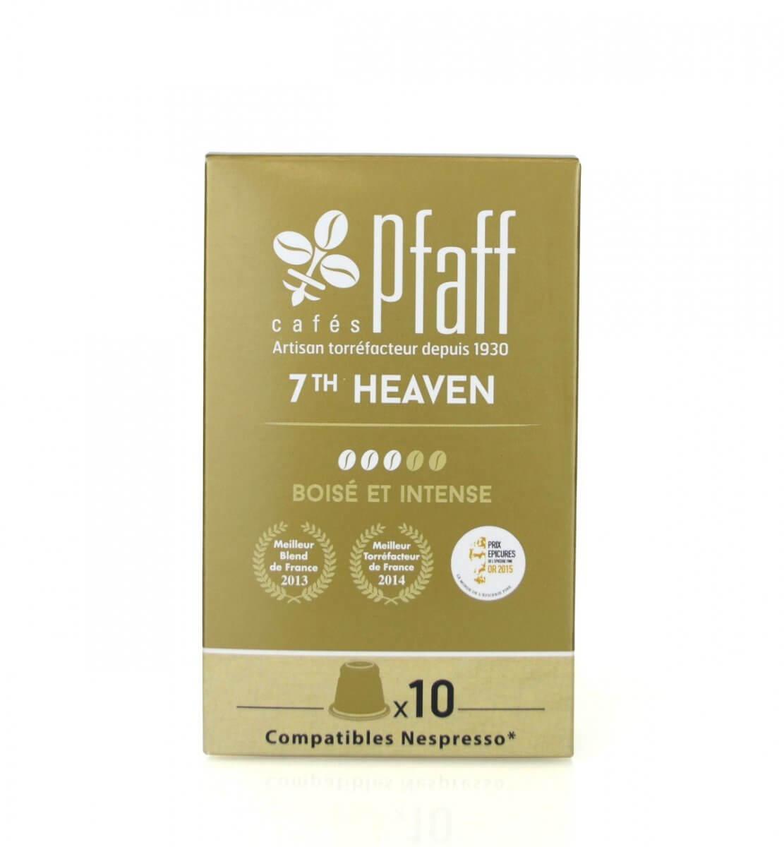 7th heaven capsules compatibles nespresso cafes pfaff