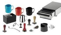 Accessoires pour machine � caf�