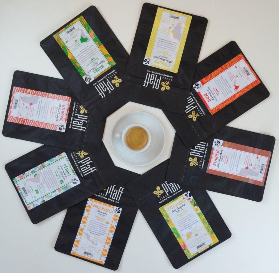 Les cafés du Terroir - 8x250 Gr