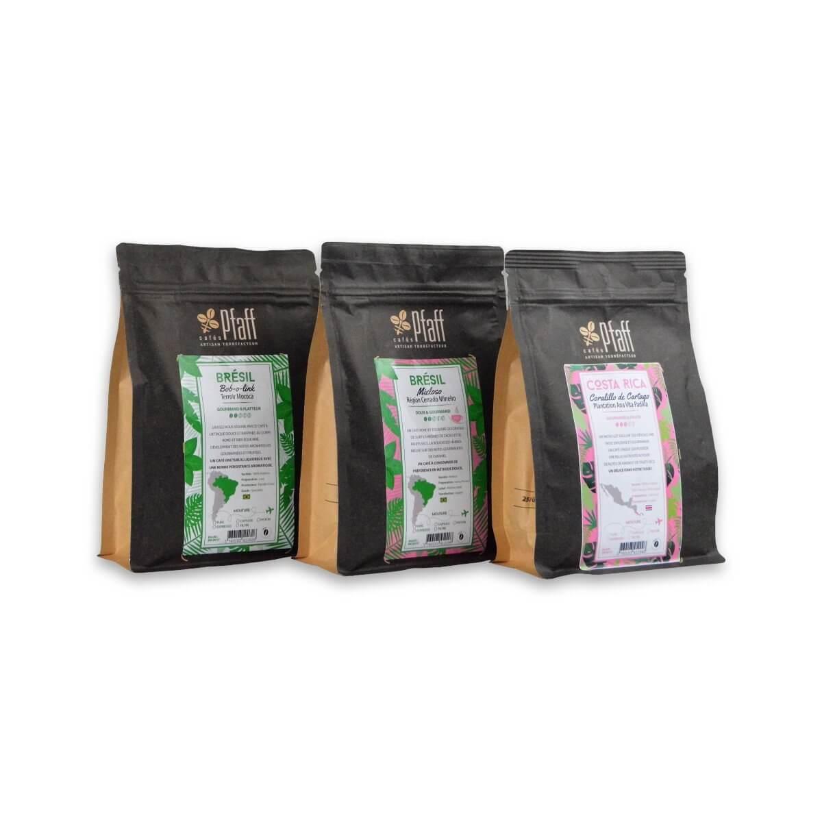 Les cafés du soleil - 3x250 Gr