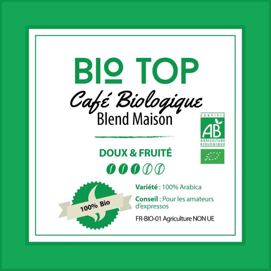 Café en grain BIO TOP - BLEND MAISON
