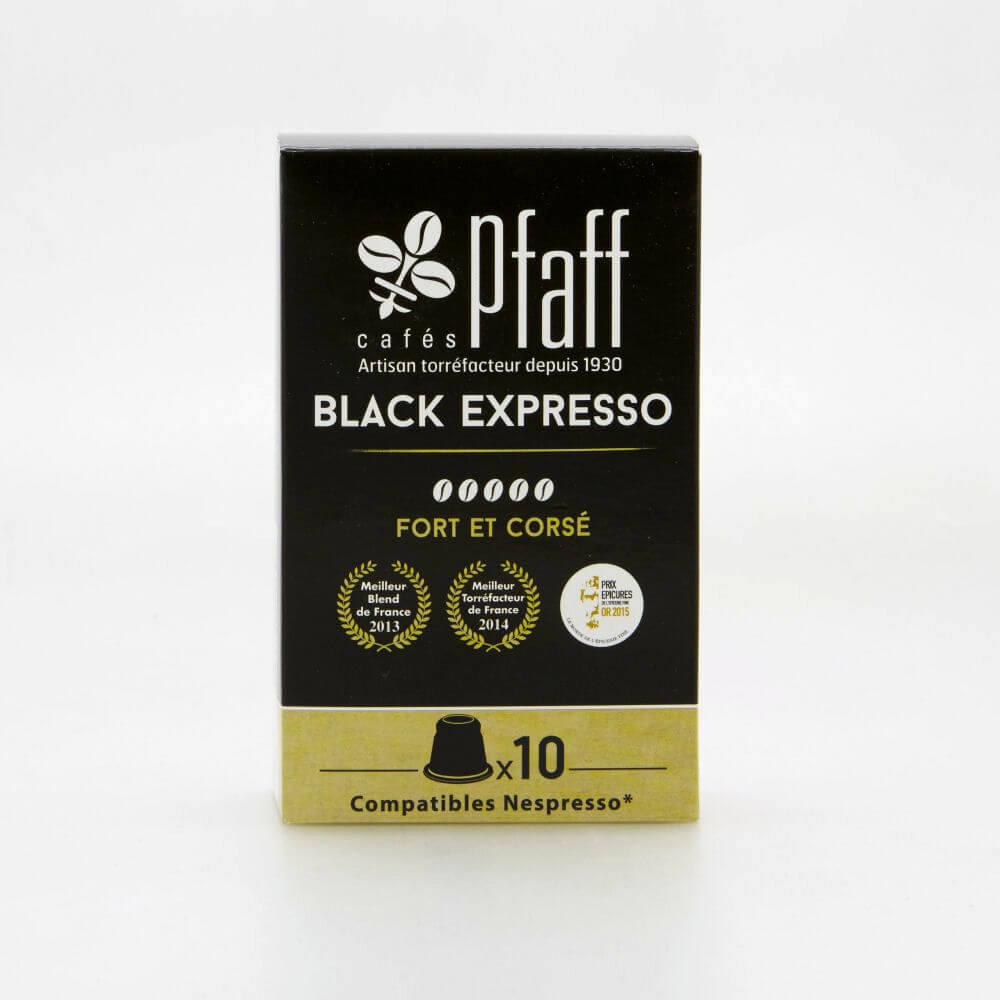 black expresso capsules cafes cafes pfaff2017 1