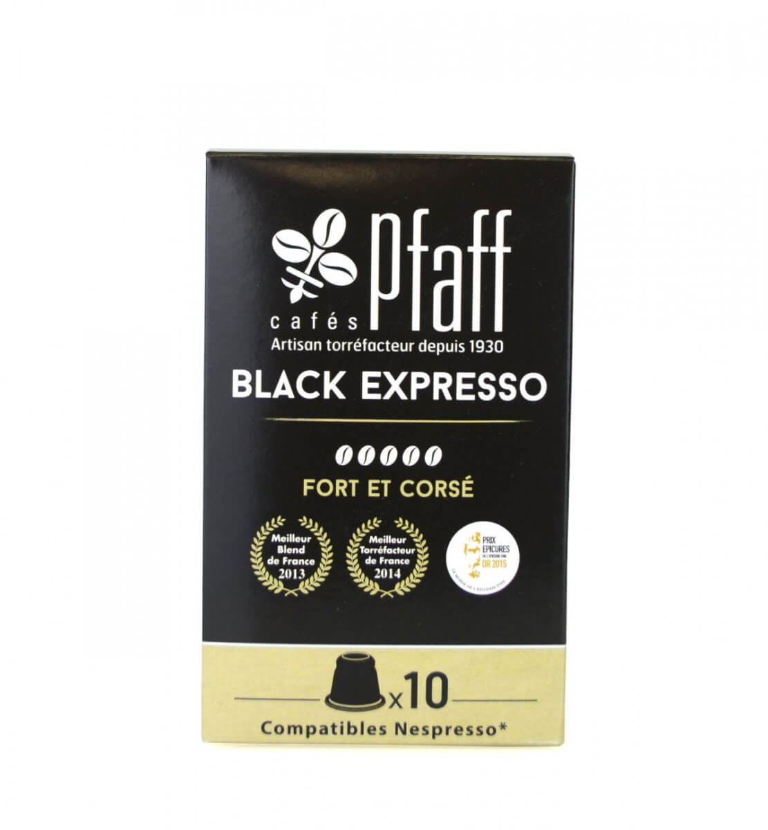 blackexpresso capsules compatibles nespresso cafes pfaff