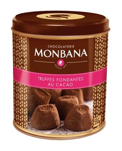 Les truffes au cacao - nouveauté MONBANA