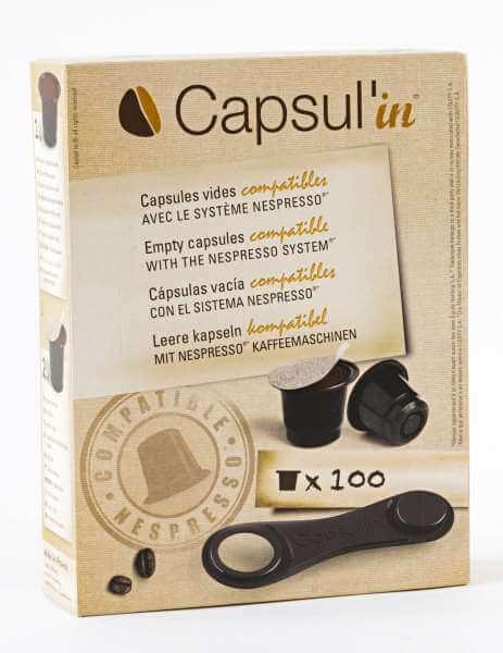 Capsul'in : capsule compatible Nespresso x 100
