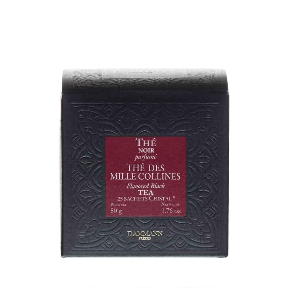 Thé des Milles Collines -  boîte 25 sachets Cristal