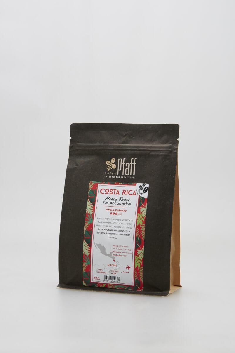 cafe en grains costa rica honey rouge cafes pfaff