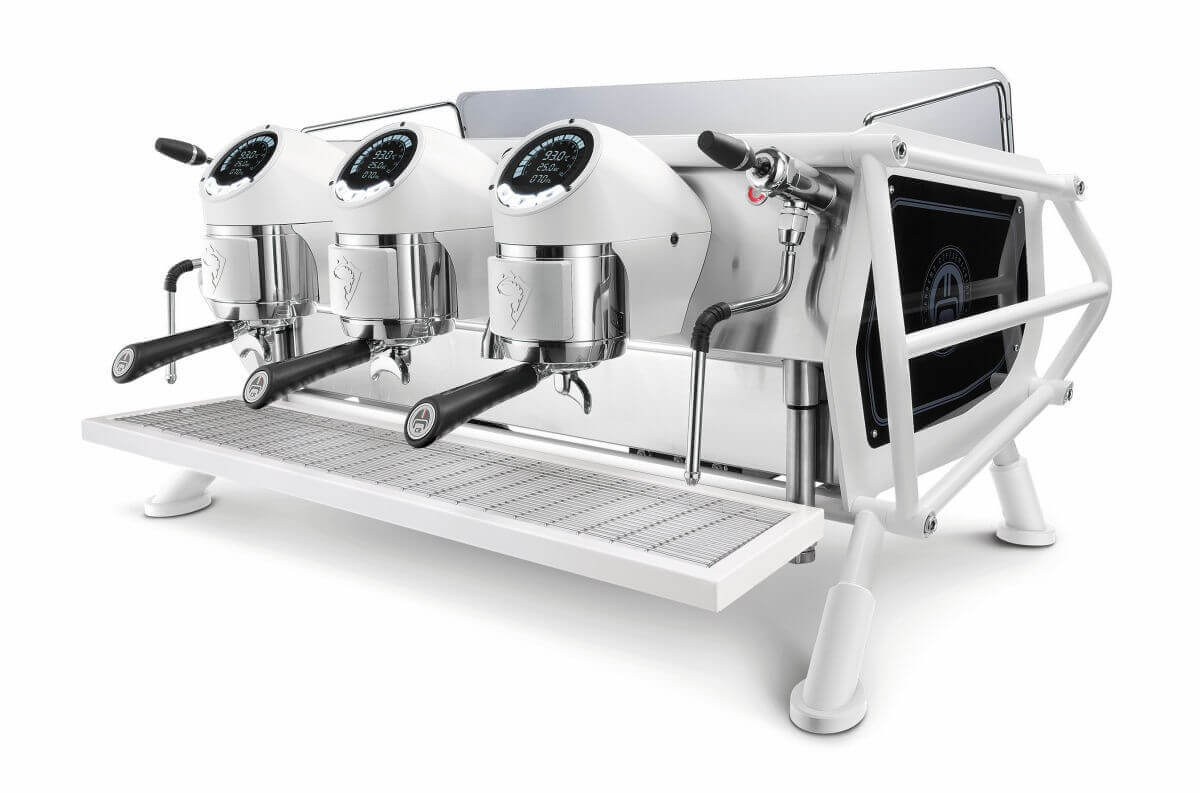 cafe racer sanremo machine expresso full white