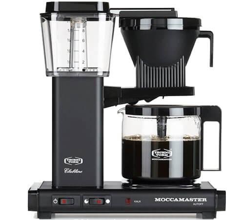 Cafeti�re Filtre Moccamaster KBG741 Noir Mat