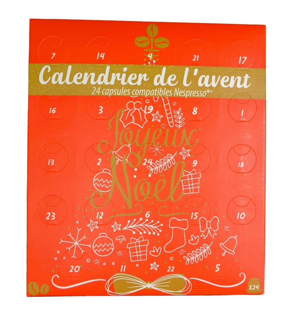 calendrier face fond blanc 2018