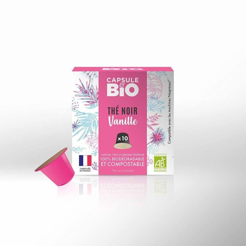 capsulebio rooibos vanille boite de 10 capsules  3