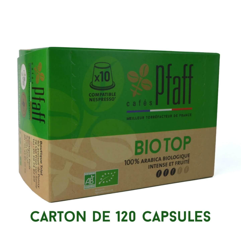 capsules bio top compatibles nespresso 120
