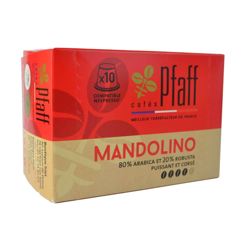capsules mandolino compatibles nespresso 2