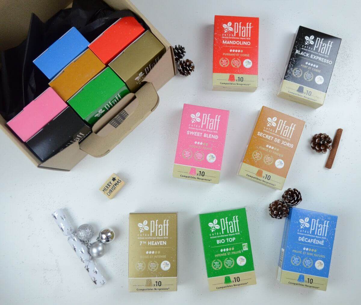 capsules nespresso coffre noel2017 2
