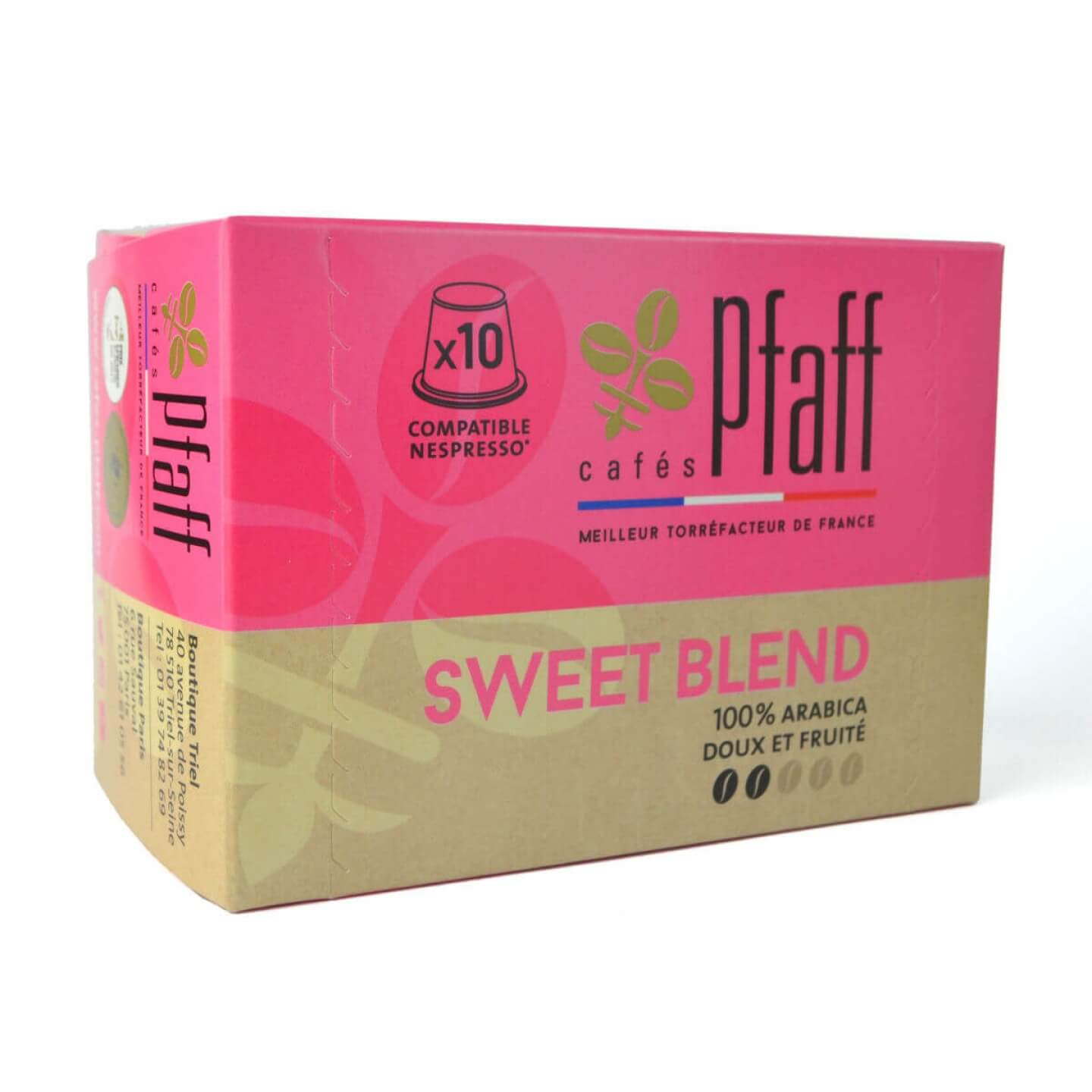 capsules sweet blend compatibles nespresso 2