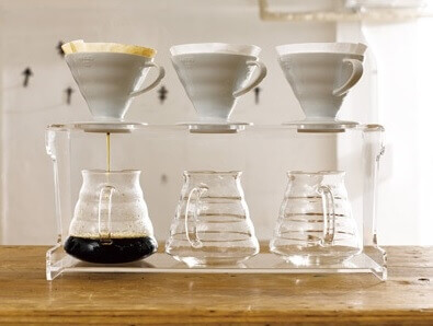 carafe support en verre 1 3 tasses dripper hario 2