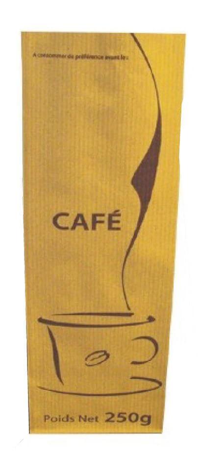 carton 1000 sachets cafe 250gr kraft