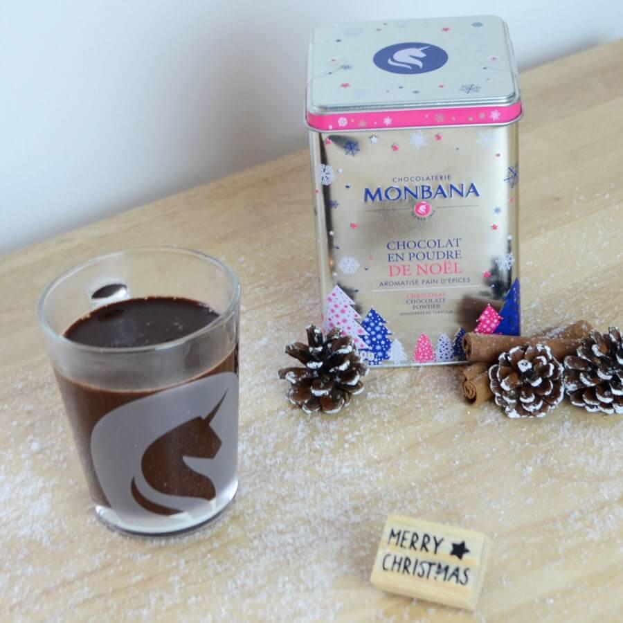 Chocolat en poudre de Noël + tasse Monbana