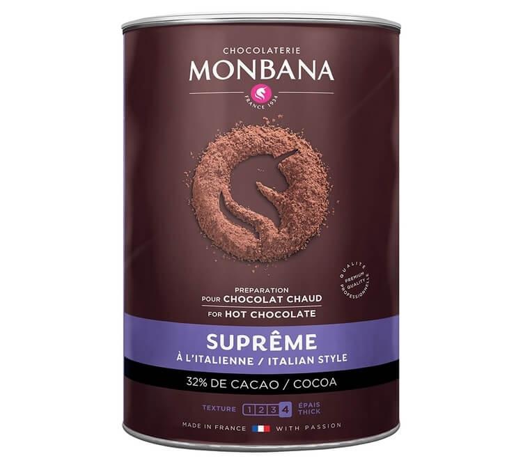 chocolat en poudre supreme monbana