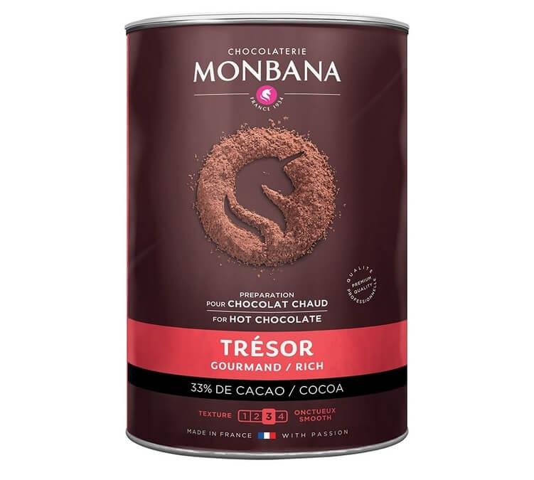 chocolat en poudre tresor gourmand monbana