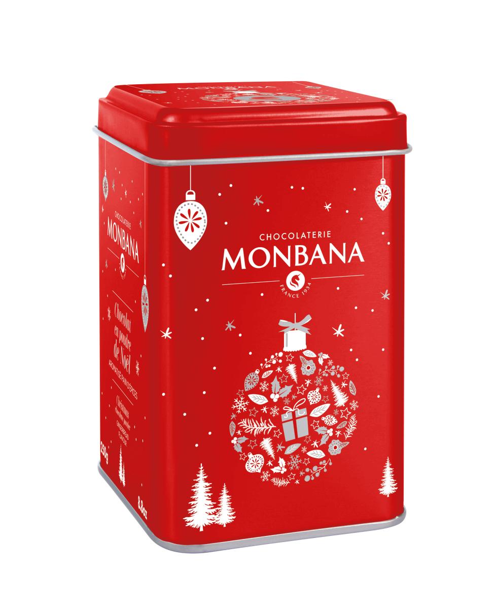 Chocolat en poudre de Noël - Monbana
