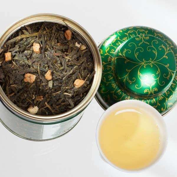 christmas tea vert boite 100 g 2