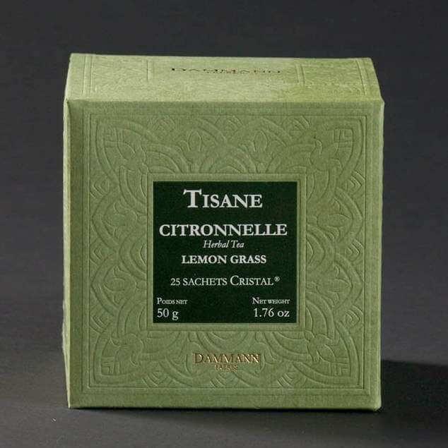 Citronnelle - boite de 25 sachets