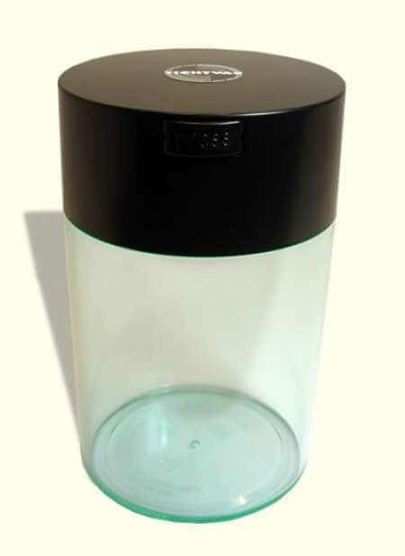 Boîte à café avec vide d'air - Coffeevac 500g/1,85L transparente