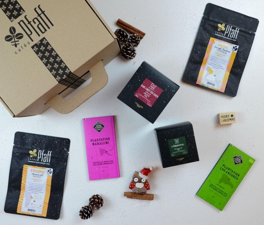 Coffret Café + Thé + chocolat pour les gourmands !