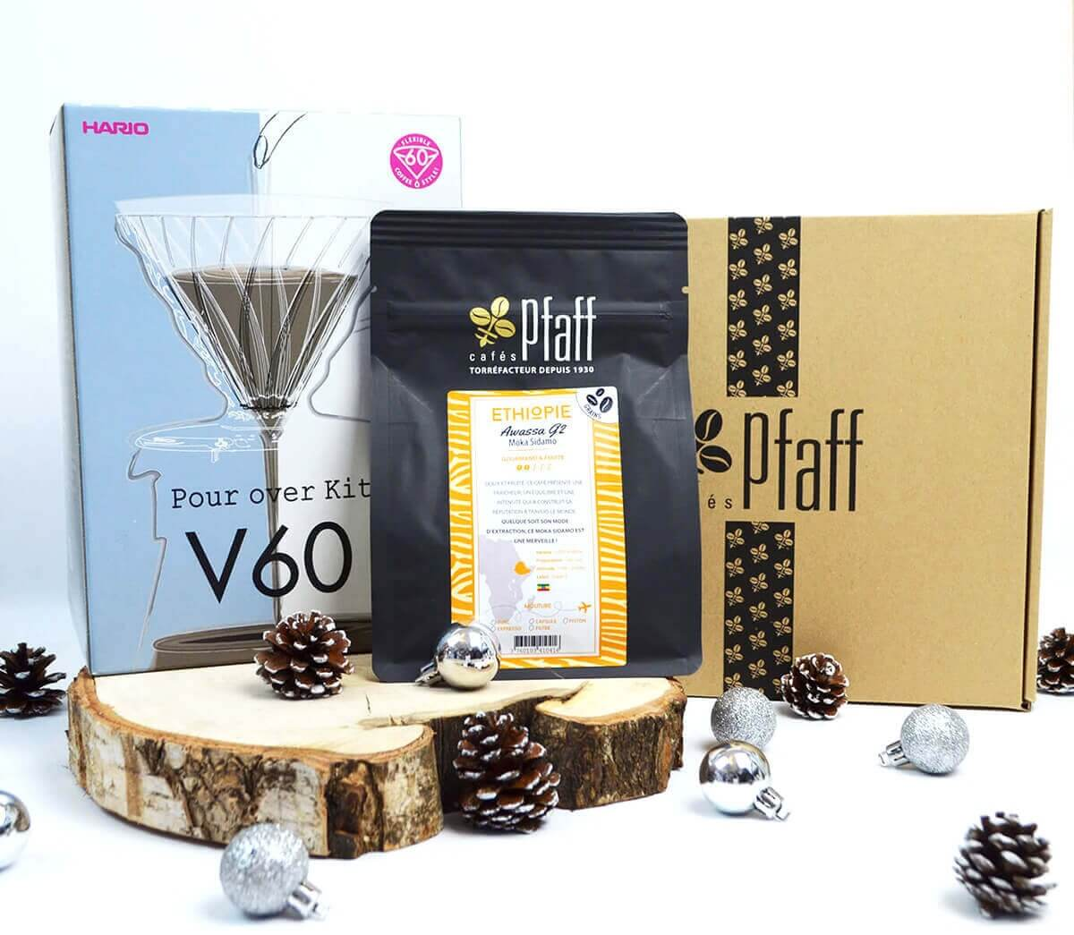 coffret over kit v60 noel