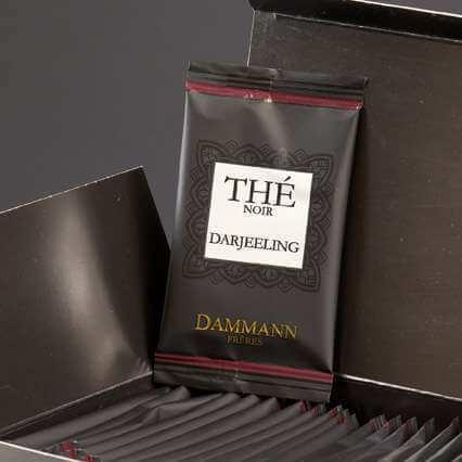 Thé Darjeeling Dammann Frères - 24 sachets suremballés