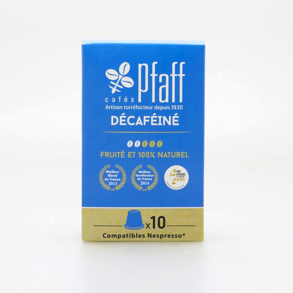 Carton de 50 capsules DÉCAFÉINÉ compatibles Nespresso®*