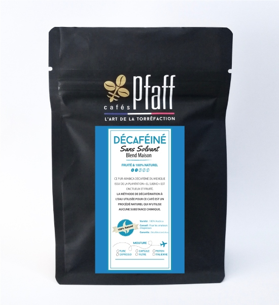 decafeine sachet 250g