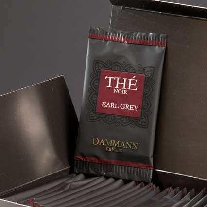 Thé Earl Grey Dammann Frères - 24 sachets suremballés
