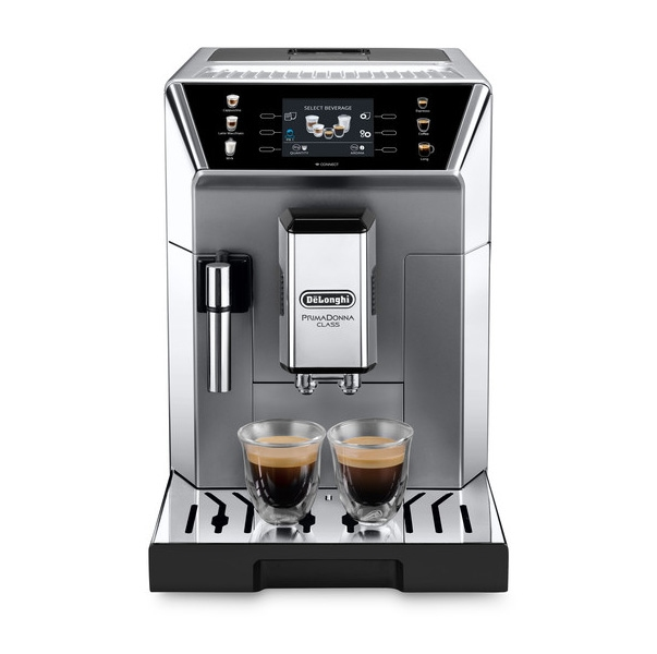 ecam550.85.ms front bianco caffe