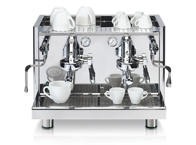 ecm commercial line espressomaschine technika profi due
