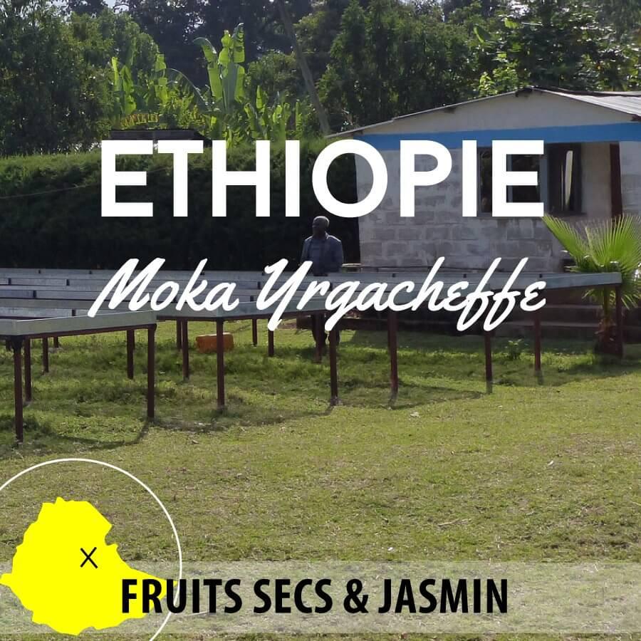 Café ETHIOPIE - Berentu - Moka Yrgacheffe - café moulu