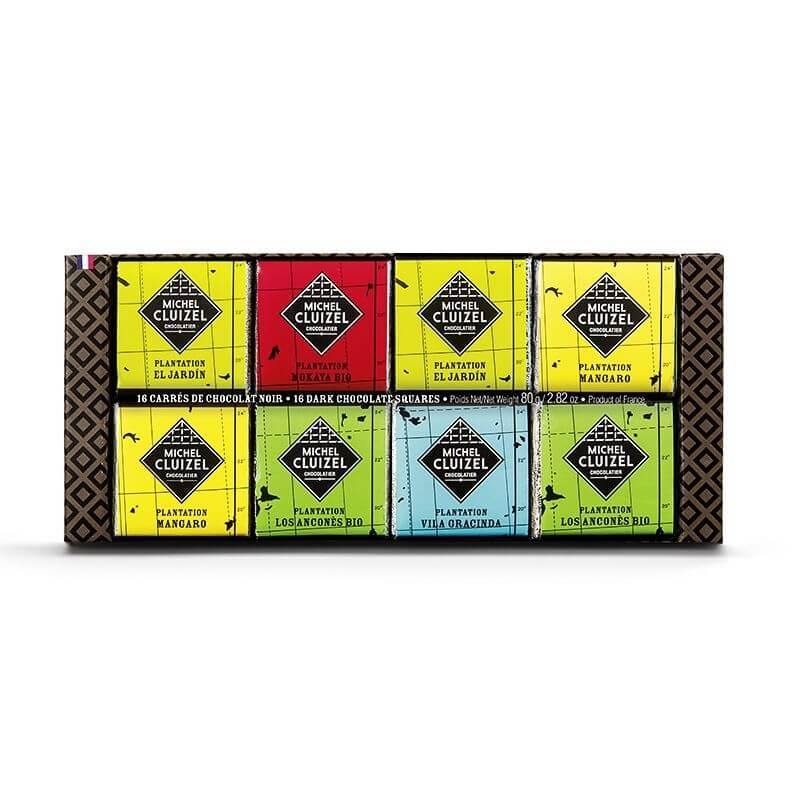 Etui chocolats de Plantation - 16 carrés - 80g