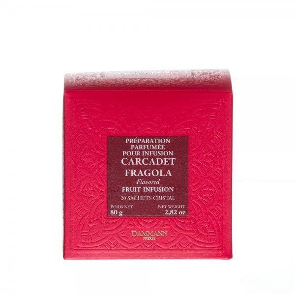 Carcadet - Fragola - 20 sachets cristal