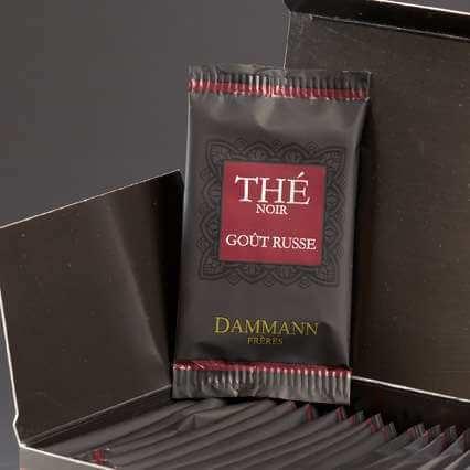 Thé Mélange Goût Russe ® Dammann -  24 sachets suremballés