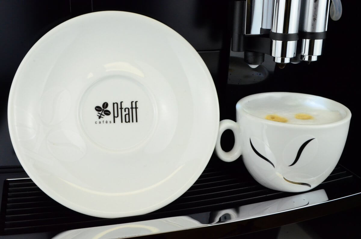 tasse cappuccino fleur de caf 10 cl carton de 6 cafe pfaff caf s pfaff. Black Bedroom Furniture Sets. Home Design Ideas