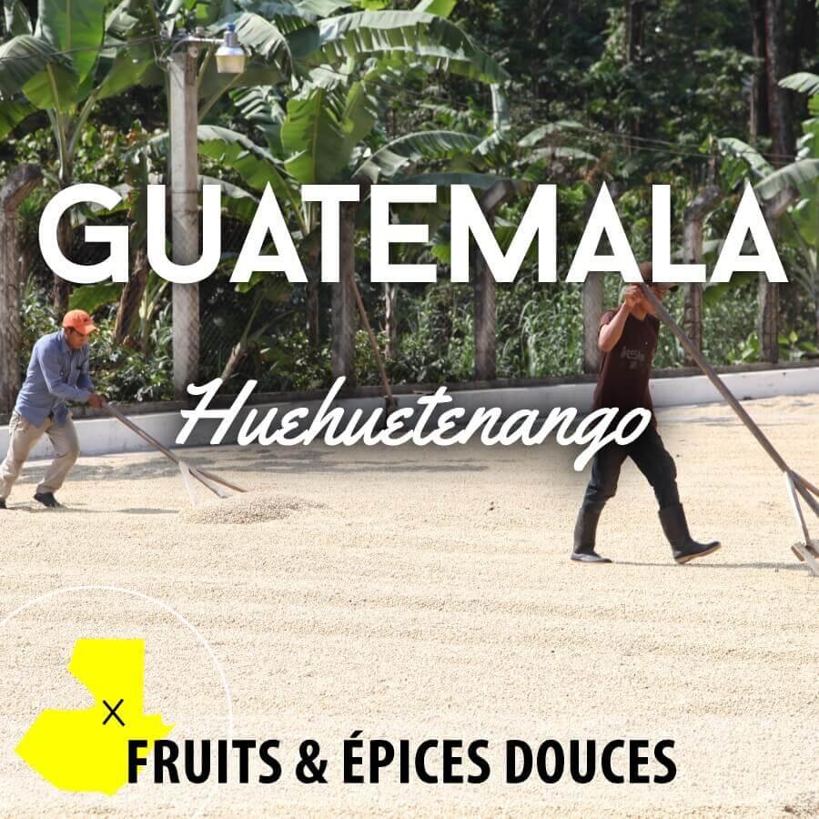 Café en grain GUATEMALA - Huehuetenango - Pacaya SHB-EP